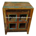 recycled wood kitchen cabinet