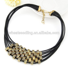 Hot fashion multilayer rope chain fitness necklace