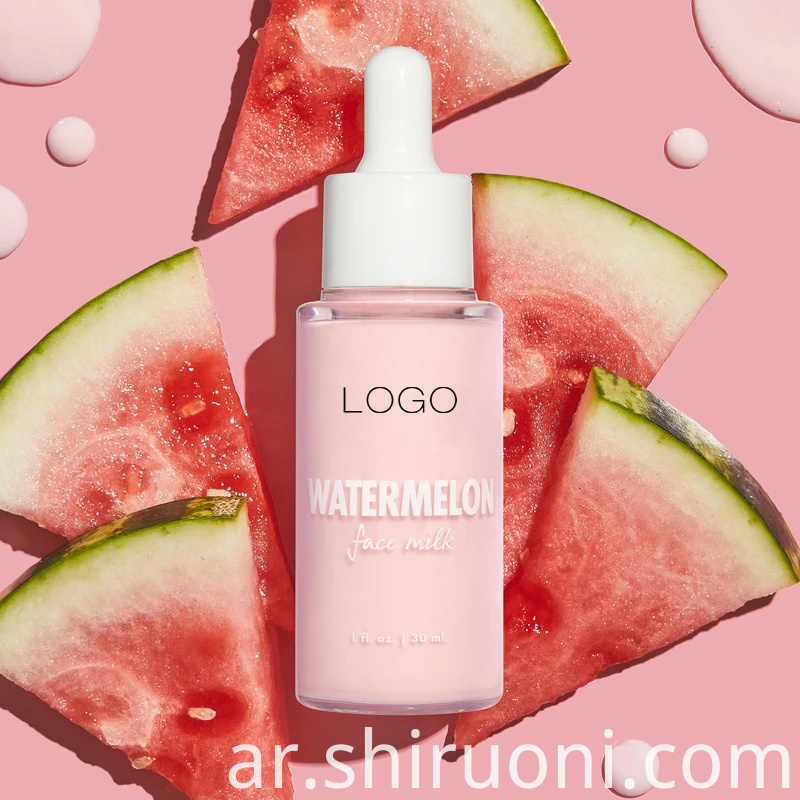 watermelon face serum
