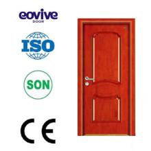 Equipo alta tecnología hdf moldeado diseños puerta