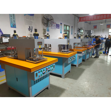 2 stations hot stamping heat pressing embossing machine