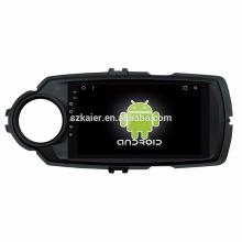 ¡Ocho nucleos! DVD del coche de Android 8.1 para el Yaris 2017 con la pantalla capacitiva de 8 pulgadas / GPS / Mirror Link / DVR / TPMS / OBD2 / WIFI / 4G