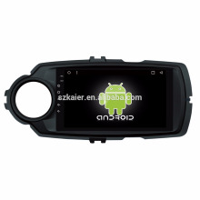 Octa core! Android 8.1 voiture dvd pour Yaris 2017 avec écran capacitif de 8 pouces / GPS / lien miroir / DVR / TPMS / OBD2 / WIFI / 4G