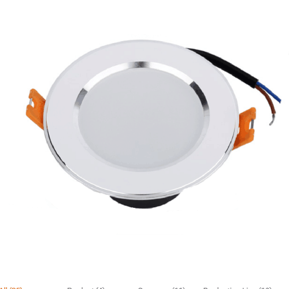 Dinmmable led downlights