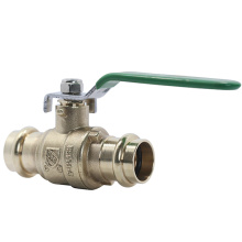 Brass Press Ball Valve