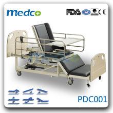 PDC001 enfermagem cama ajustável quente