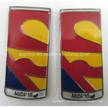Insignia promocional del metal del regalo como recuerdo del precio de fábrica (badge-217)