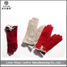 ZF5662 Neueste Mode schöne Dame Wolle Handschuhe