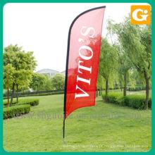 Bandeira de arco de promoção ao ar livre