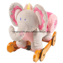 Eje de balancín lavable del elefante del caballo