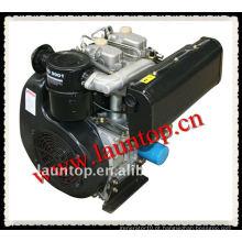 Motor diesel de dois cilindros de 20 cv