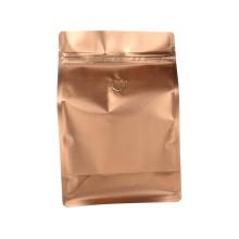 Золотой цвет алюминия пластиковый кофе крафт-мешок