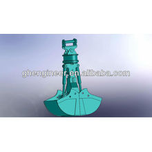 Hot Sell hydraulic clamshell grab bucket for excavator