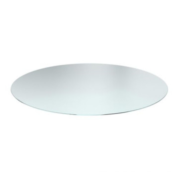 Glass Dining Table, Tempered Clear/Stained Round Glass for Decoration