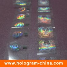 Custom Demetalation Passport Hologram Hot Stamping Foil