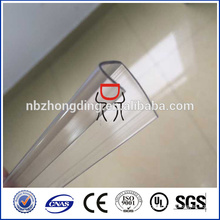 perfil de conector de hoja de policarbonato (U & H) para una fácil instalación