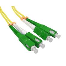 Sc / APC à la corde de correction optique de fibre de Sc / APC duplex
