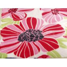 Blume gedruckt Polar Fleece Stoff für Decken