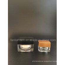 5g / 15g Mini Creme Gläser für kosmetische Verpackung / Sack Flaschen