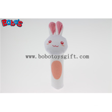 14cm Best Price Wholesale Plush Bunny Hand Bell Toy Bosw1041