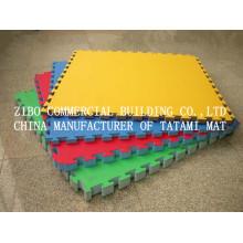 Tatami de 3 cm EVA Tatami / Taekwondo Mat Alfombra de suelo que se enclavija