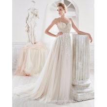 Бисероплетение Спинки Тюль Свадебное Платье Платье Для Новобрачных