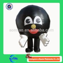 Traje inflable de los pernos de bolos de la bola de bolos trajes inflables modificados para requisitos particulares para la publicidad