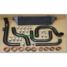 Negro Intercooler auto refrigerador de tubo para Honda B-Series (B16 B18 B20)