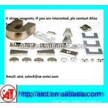Customized Permanent U shaped magnets
