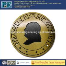 ISO 9001 pasó pequeñas placas de metal personalizadas