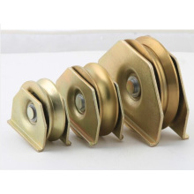 SGS Factory Wholesale Hot Popular Double Pulley with Double Bearings