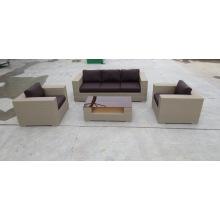 Luxury Outdoor Patio Rattan/Wicker Sofa Set, Garden Furniture Sofa Set