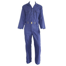 Euro Work Blue Coverall dengan Metal Buckle