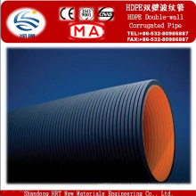 Manufacturer Double Wall Corrugated HDPE Water Pipe