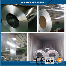 Bobina de acero galvanizada sumergida caliente de la bobina del acero de cinc de Dx51d Z60