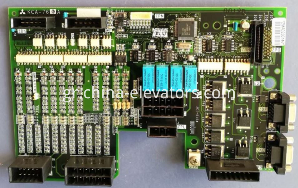 Interface Board KCA-760A for Mitsubishi GPS-3 Elevators