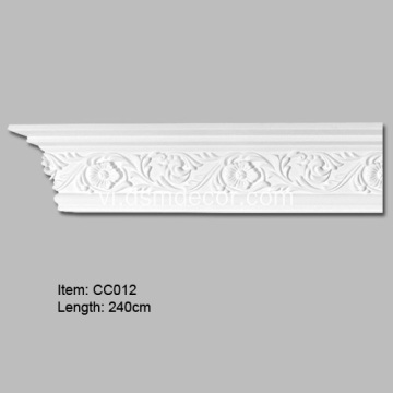 Rosette Design PU Cornice Mouldings