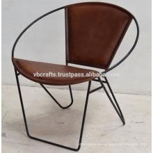 Натуральная Кожа Круглой Формы Классический Дизайн Кресла