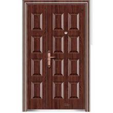 Полтора стальные двери