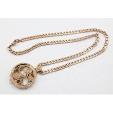 Luxry Rose Gold Living Locket Collier