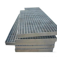 High strength walkway steel bar grating for stairs