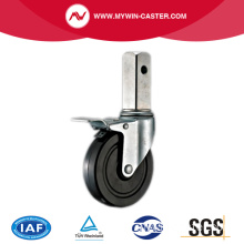 Новый дизайн Square Stem Industrial Caster