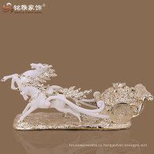 оптовая нестандартная конструкция современных фигурка лошадь для домашнего декора