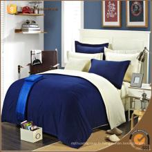 Quality Hotal House Home Plain Solid Color Literie Drap housse de couette