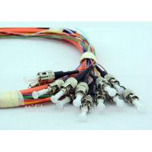 ST Fiber Optic Pigtail , 2.0mm / 3.0mm Cable Diameter for CATV LAN WAN