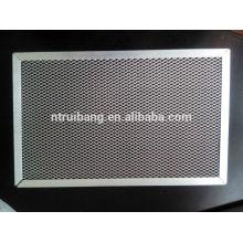 manufacturing pre filter filtration grade air filter aluminum frame Carbon Cabin Air Filter