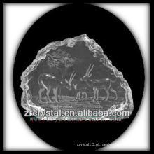 K9 Crystal Intaglio do molde S077