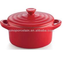 7inch cerámica plato de horno para BS12087B
