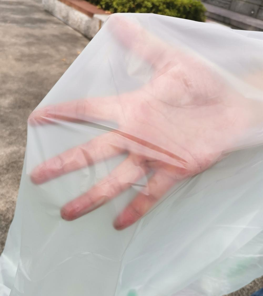 No Leaking Bioplastic Commercial Trash Bags