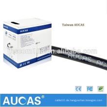 Aucas Fabrik Versorgung 2 Wire 1 Paar RJ11 Telefon Kabel Drop Wire Telefonkabel CE Passed